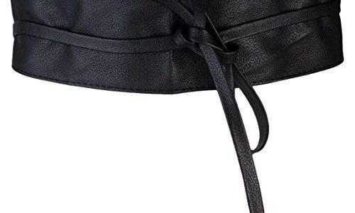 Breiter Hüftgürtel Damen / Taillengürtel in schwarz