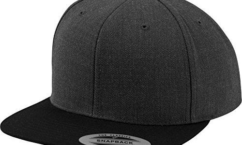 in diversen Farben – Flexfit Classic Snapback 2-Tone -One Size Cap, Erwachsenen Mütze Kappe für Herren und Damen Schirmmütze verstellbar