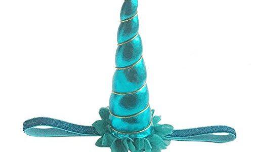 Blue Vessel Dekorative Magische Einhorn Horn Kopf Party Haar Stirnband Fancy Dress Cosplay blau