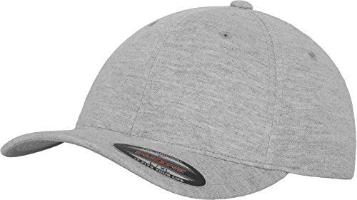 Flexfit Erwachsene Mütze Double Jersey, Heather, S/M, 6778