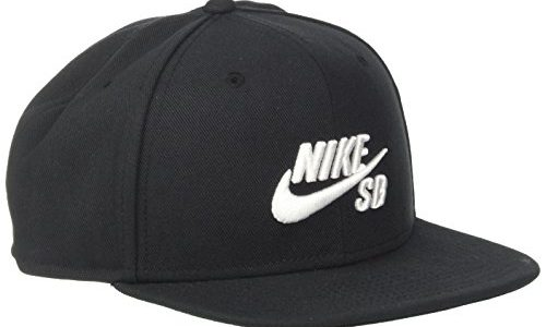 NIKE Schirmmütze SB Icon Pro, Black/White, One Size, 628683-013