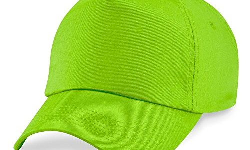 Beechfield – Original 5 Panel Cap Einheitsgröße,Lime Green