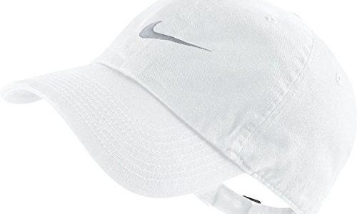 Nike Unisex Baseballkappe Swoosh Heritage 86, White/Wolf Grey