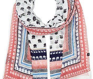 Marc O'Polo Damen Schal 701819502343, Mehrfarbig Combo G51, One Size