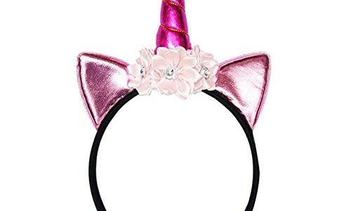 Blue Vessel 1 PC Glitter Metallic Einhorn Stirnband Für Mädchen Und Kinder Party Haar Zubehör 5#