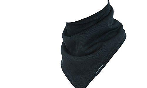 Hilltop Design Bandana / Dreieck Halstuch mit Fleece / Halstuch / viele Farben, Farbe/Design:schwarz uni