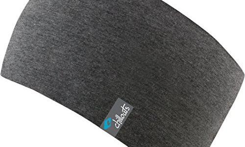 Eton Headband-sportliches Kopfband aus Baumwolljersey in vielen Farben, doppellagig und atmungsaktiv, darkgrey