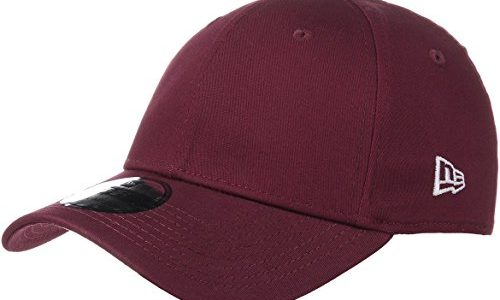 New Era Basic 39Thirty – Hut, Farbe Bordeaux, damen, rot, XS/S
