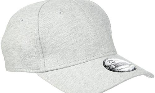 New Era Erwachsene Baseball Cap Mütze 39Thirty Stretch Back, Grrey Jersey, M/L, 11086485