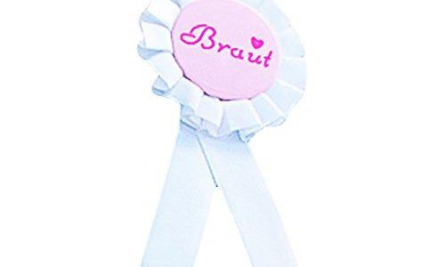 Schärpe Braut Security Hochzeit Geburtstag 18 – wählbar Braut Button