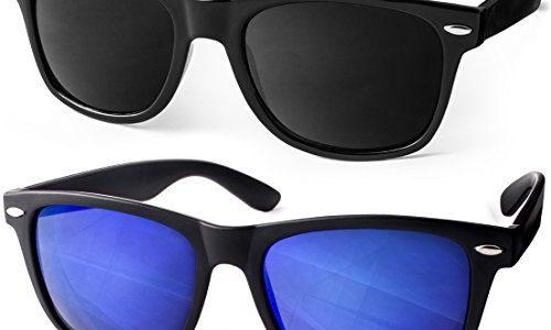 UVprotect® Sonnenbrille Wayfarer Design UV400 W02CSet