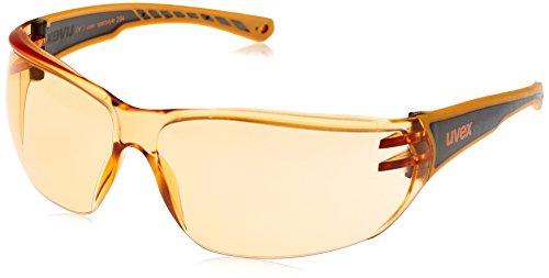 Uvex Unisex Sportbrille Sportstyle 204, orange/lens orange, One Size, 5305253112,