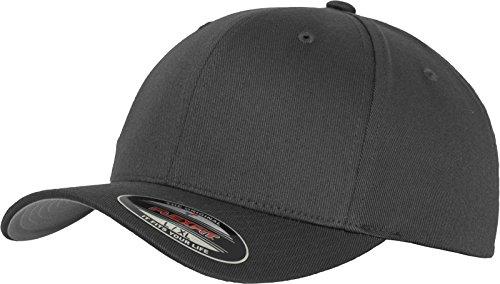 Flexfit Erwachsene Mütze Wooly Combed, Dunkel GrauDark Grey, L/XL