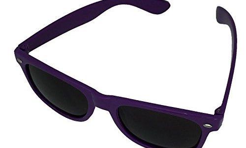 45 verschiedene Farben/Modelle wählbar Dark Blue Tönung – BOOLAVARD® Nerd Sonnenbrille im Wayfarer Stil Retro Vintage Unisex Brille