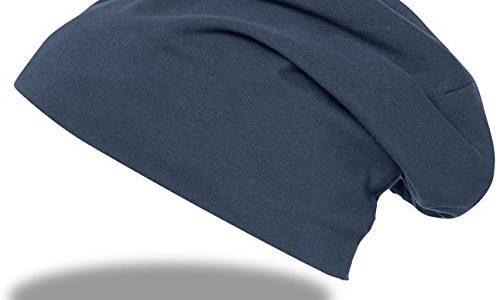 Beanie Jersey 9167-8-XL/XXL Uni Navy groß