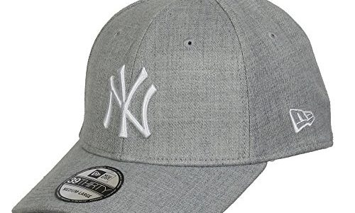 New Era 39thirty League NY Yankees Cap L/XL gray/white