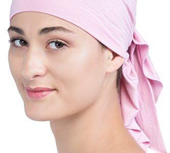 Unisex Baumwolle Bandana Fur Haarverlust Powder Rosa