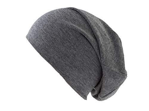 c0c90e225de46d Hatstar Bicolor Jersey Slouch Long Beanie Mütze, leicht und weich ...
