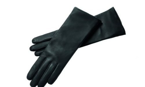Roeckl Damen Handschuh Edelklassiker Kaschmir lang 11011-327, Gr. 8.5, Schwarz 000