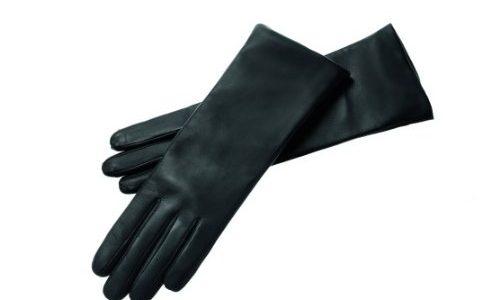 Roeckl Damen Handschuh Edelklassiker Kaschmir lang 11011-327, Gr. 7.5, Schwarz 000