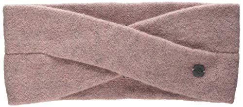 Marc O'Polo Damen Mütze, Schal & Handschuh-Set 810626601087 Pink Mellow Mauve Melange 661 One Size Herstellergröße: OSO