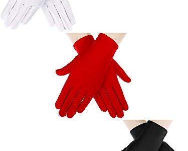 Sumind Damen Handschuhe Gr. One size, Black 2, White 2, Red 2