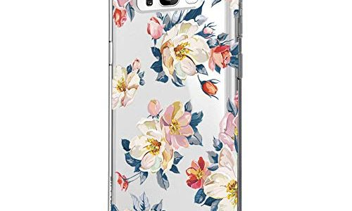 Blume S8, 19 – Riyeri Hülle Compatible with Samsung Galaxy S8 Plus Hülle Cover Klar Slim Fit TPU Silikon Bumper Handyhülle für Samsung S8 Phone