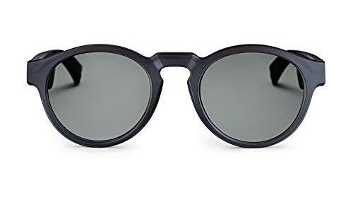 Bose Unisex– Erwachsene Frames Audio-Sonnenbrille, Rondo, schwarz, 51 x 148 x 51