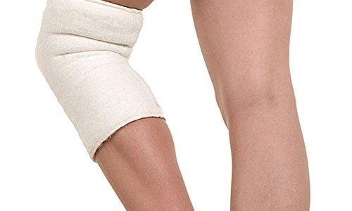 SamWo, Kniewärmer/Gelenkwärmer sensitiv Floor 100% Merinowolle, elastisch, bei 30 Grad waschbar, außen genäht XL 2
