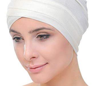 Deresina W Baumwollmütze für Chemo Sahne