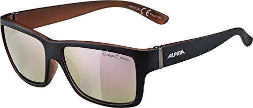 Alpina Damen Pheos S MM Skibrille, Black matt-Copper, One Size