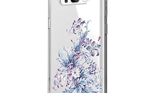 Blume S8, 11 – Riyeri Hülle Compatible with Samsung Galaxy S8 Plus Hülle Cover Klar Slim Fit TPU Silikon Bumper Handyhülle für Samsung S8 Phone