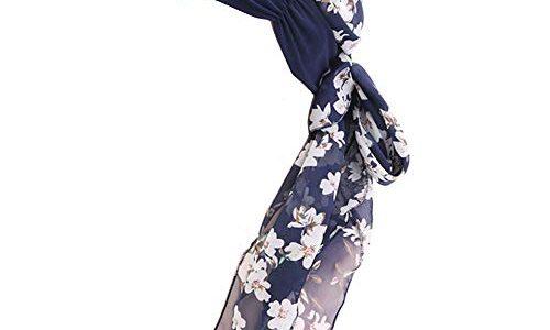 GUIFIER Damen Chiffon Kopftuch Headwrap Bandana Hat,Frauen Kopfbedeckung Schal Mützen Headscarf,Chemo Turban Kappe für Krebs Haarausfall Frauen Chemopatienten