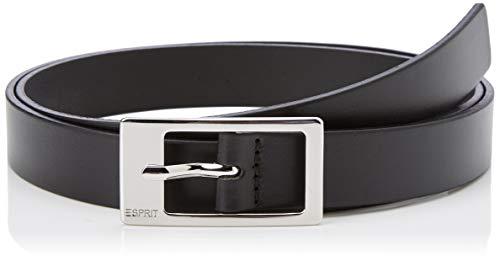 ESPRIT Accessoires Damen 999EA1S806 Gürtel, Schwarz Black 001, 6631 Herstellergröße: 85