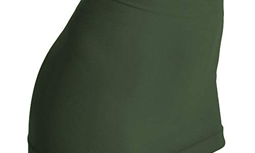 kidneykaren Nierenwärmer Basic- Tube Multifunktion Yogagurt Fitness & Freizeit Evergreen Tundra grün, Größe:XS