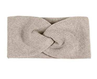 Haarband – Zwillingsherz Stirnband mit Zopf-Knoten – Kaschmir – Hochwertiges Strick-Kopfband für Damen Frauen Mädchen – warm weich und luftig für Frühjahr Herbst und Winter – Ohrenschutz – hbg
