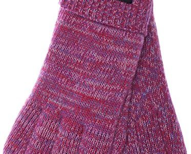 EEM Damen Handschuhe Blau rosa Pinkmix XL