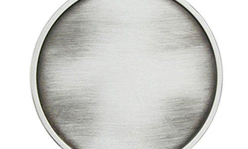 Schnalle123 Gürtelschnalle Klassisch Blank rund Western 3D Optik für Wechselgürtel Gürtel Schnalle Buckle Modell 204