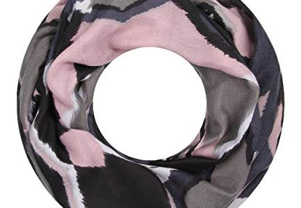 Majea Loop Schal Damen Schlauchschal – modischer Loopschal – Halstücher grau 4 – viele Farben