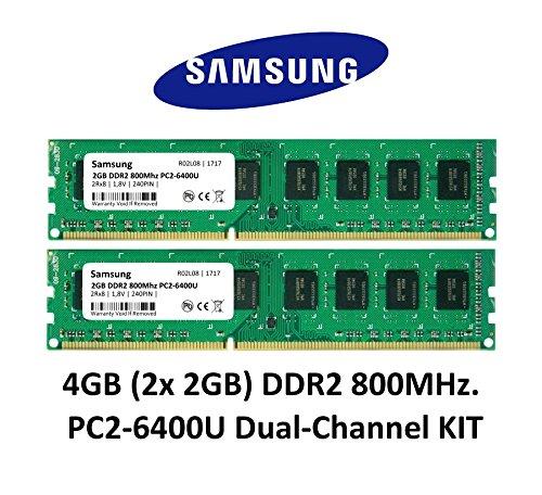 Top 9 DDR2 RAM 4GB – Arbeitsspeicher